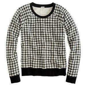J.Crew Houndstooth Sweater